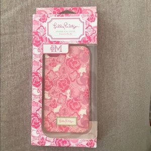 Lilly Pulitzer new in box 4s/4 cell phone case